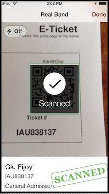 Scan Using Camera - iOS