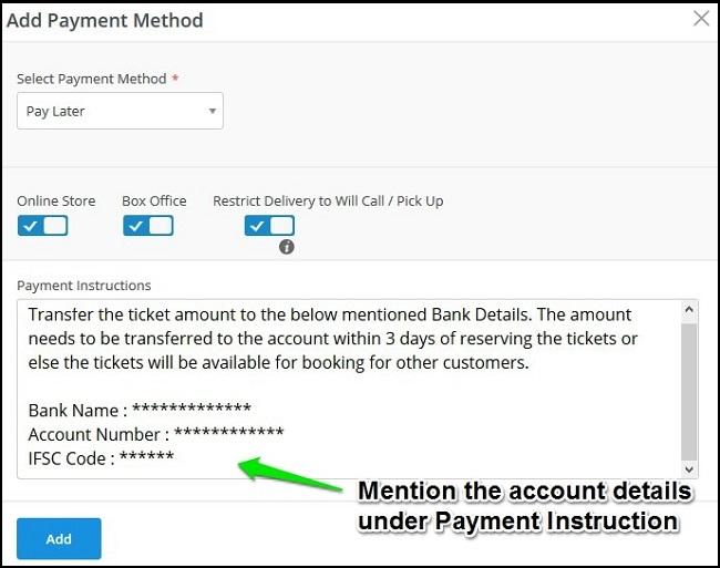 Bank Transfer Payment Deutsch