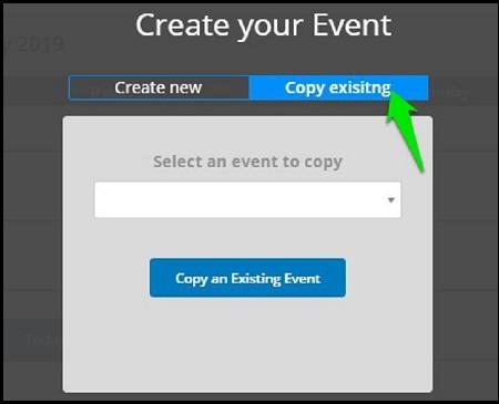Copy Existing