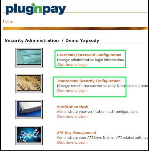 PlugNPay Username